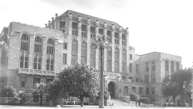 The Maricopa County Courthouse is on the National Register of Historic Places.