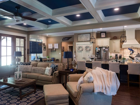 """Andy Henry says, """"We wanted a space where nobody was in separate rooms, so we created the main living area and went from there."""""""