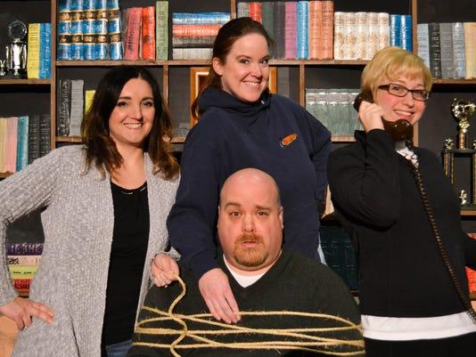 Stephanie Book, Hilary Frater, Sarah Engeman, Ryan Randolph