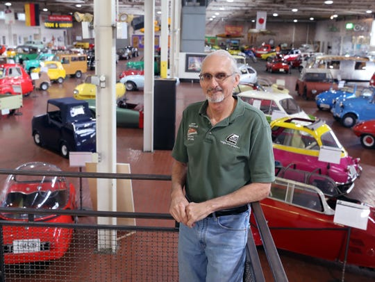 Jeff Lane started the Lane Motor Museum after his hobby
