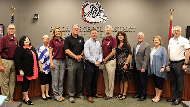 The newly formed Board of Education for Rolla 31 School District.