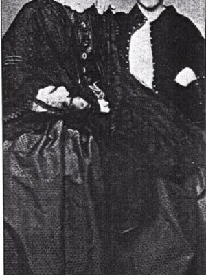Harriet and John Hemingway Duncan, about 1865.