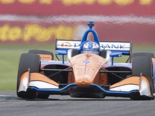 Chip Ganassi Racing IndyCar driver Scott Dixon (9)
