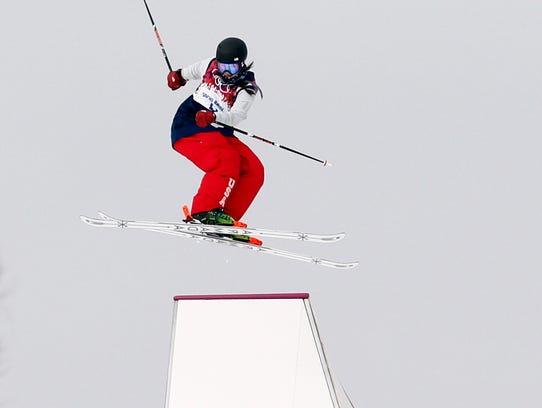 USP Olympics_ Freestyle Skiing-Ladies' Ski Slopest