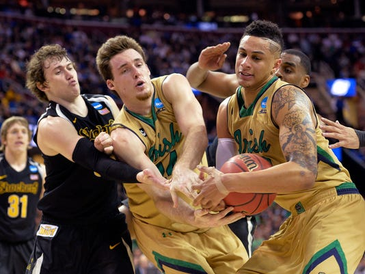 Pat Connaughton, Zach Auguste, Evan Wessel