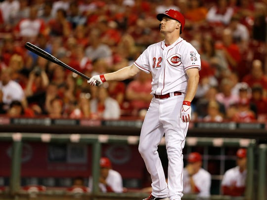 Jay Bruce didn't hit a home run the entire month of May.