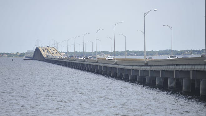 Local leaders are pushing for the Florida Department of Transportation to unveil submitted designs for the new Pensacola Bay Bridge