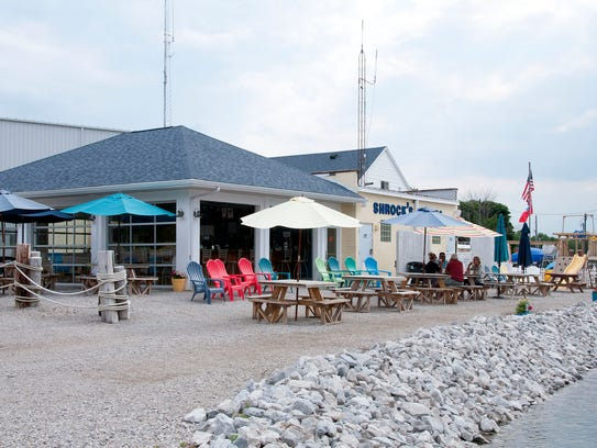 Hidden Beach Bar opened two years ago at Schrock's