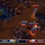 California and Arizona State competed in the Heroes of the Dorm championship Sunday night, which was televised nationally on ESPN2.