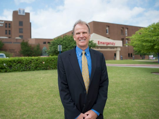 Baxter Regional Medical Center CEO Ron Peterson said