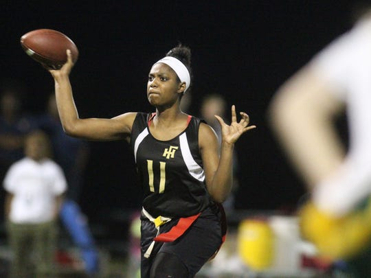 Florida High quarterback Kyndall Thomas during the