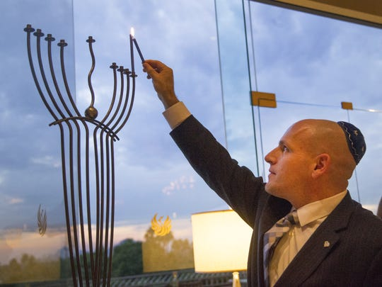 """What many people know as a """"menorah"""" is a """"hanukiah."""""""
