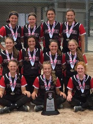 The Plover 14s finished the season with a 32-7 record,