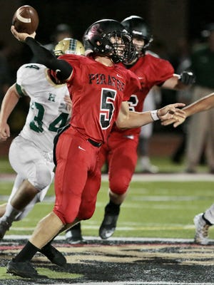Quarterback Jack Wurzer will lead Pinckney's offense into the state playoffs in a Week 9 rematch with Walled Lake Northern.