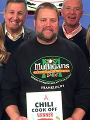 Brian Francis has earned multiple awards for his chili, which is served at Mulligans Irish Pub in Franklin. He will compete at the Milwaukee Chili Bowl Jan. 29, a competition he won in 2016.