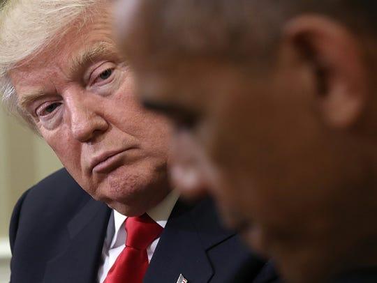 In this Nov. 10 file photo, President Barack Obama