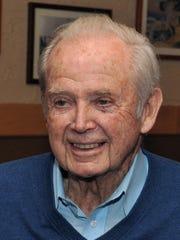 Former Michigan Governor William Milliken.
