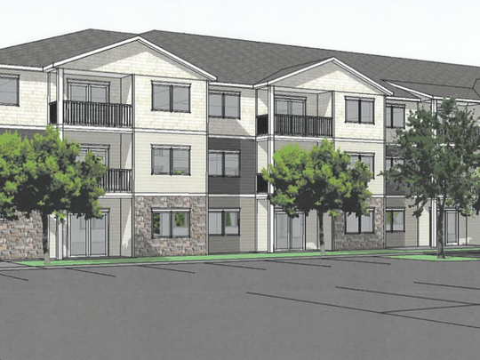 Plan for new apartments on Mayhew Lake Road approved