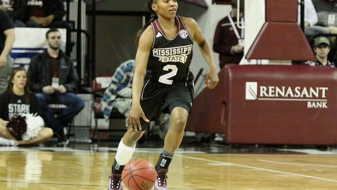 Sophomore Morgan William is the engine that makes Mississippi State run.