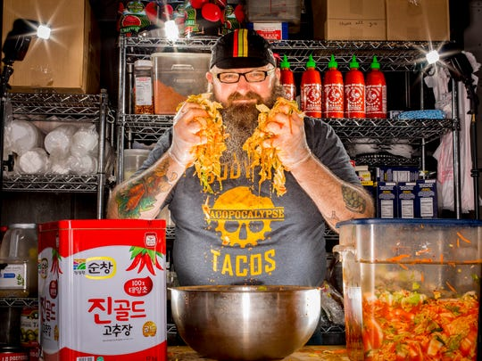 Sam Auen, owner of  Krunkwich and Tacopocalypse in Des Moines is making changes at his restaurants.