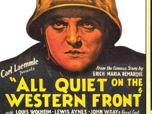 ... . The first talkie at the Imperial - All Quiet on the Western Front