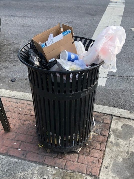 Yonkers Removes Garbage Cans To Reduce Litter