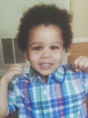 A photo from a digital phone shows Jamil Baskerville Jr., a Pennsauken 2-year-old who died in August.