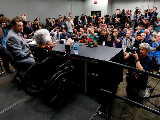 Sister Jean's press conference 'like Tom Brady at the Super