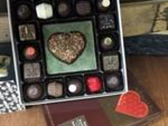 Bourbon-infused chocolate truffles available at Art Eatables on Fourth Street