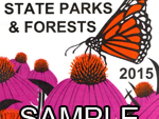 State Park sticker