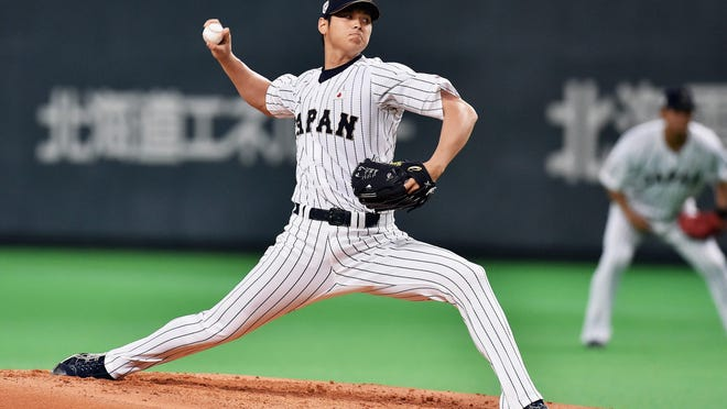 Shohei Otani is a top Japanese talent that could garner a big payday when he comes to play in the U.S.