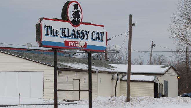 The Klassy Cat Tavern, 3800 West Henrietta Road, is for sale at $2,500,000.  The land as well as the adult themed use permit is included in the sale price.