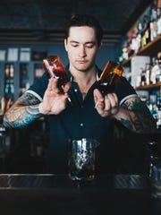 Keifer Gilbert: Bartender, Bitter and Twisted.