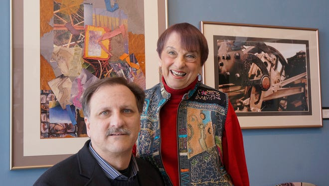 Edee Joppich is sharing gallery wall space with son Dan Joppich.