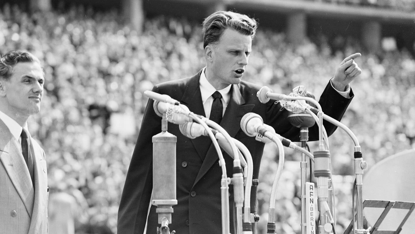 Billy Graham, 1918-2018: Evangelist, confidant of presidents