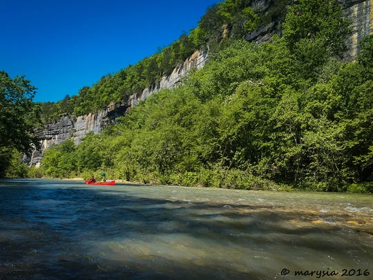 More than  20 miles of the Buffalo National River will be viewable on Google Street View, thanks to paddler Larry Merriman's efforts.