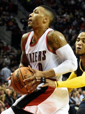 Damian Lillard scored a team-high 26 points for the Blazers.