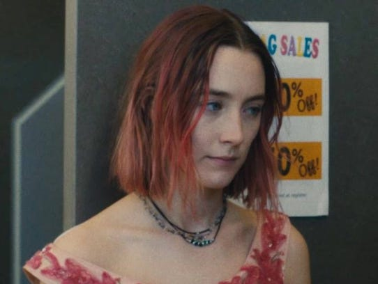 "Saoirse Ronan stars in ""Lady Bird,"" opening Dec. 1"