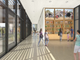 A rendering of the lobby of the Chandler Museum, designed