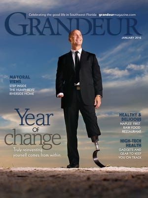 Cover of Grandeur magazine, January 2016.