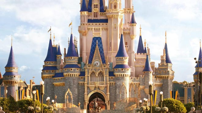 "ARTIST CONCEPT ONLY: Cinderella Castle is about to become even more magical inside Magic Kingdom Park at Walt Disney World Resort in Lake Buena Vista, Fla. In honor of the 70th anniversary of the Disney Animation classic film ""Cinderella,"" the princess' namesake castle at the heart of Magic Kingdom Park will receive bold, shimmering and regal enhancements. The royal makeover begins in the coming weeks and continues throughout summer."