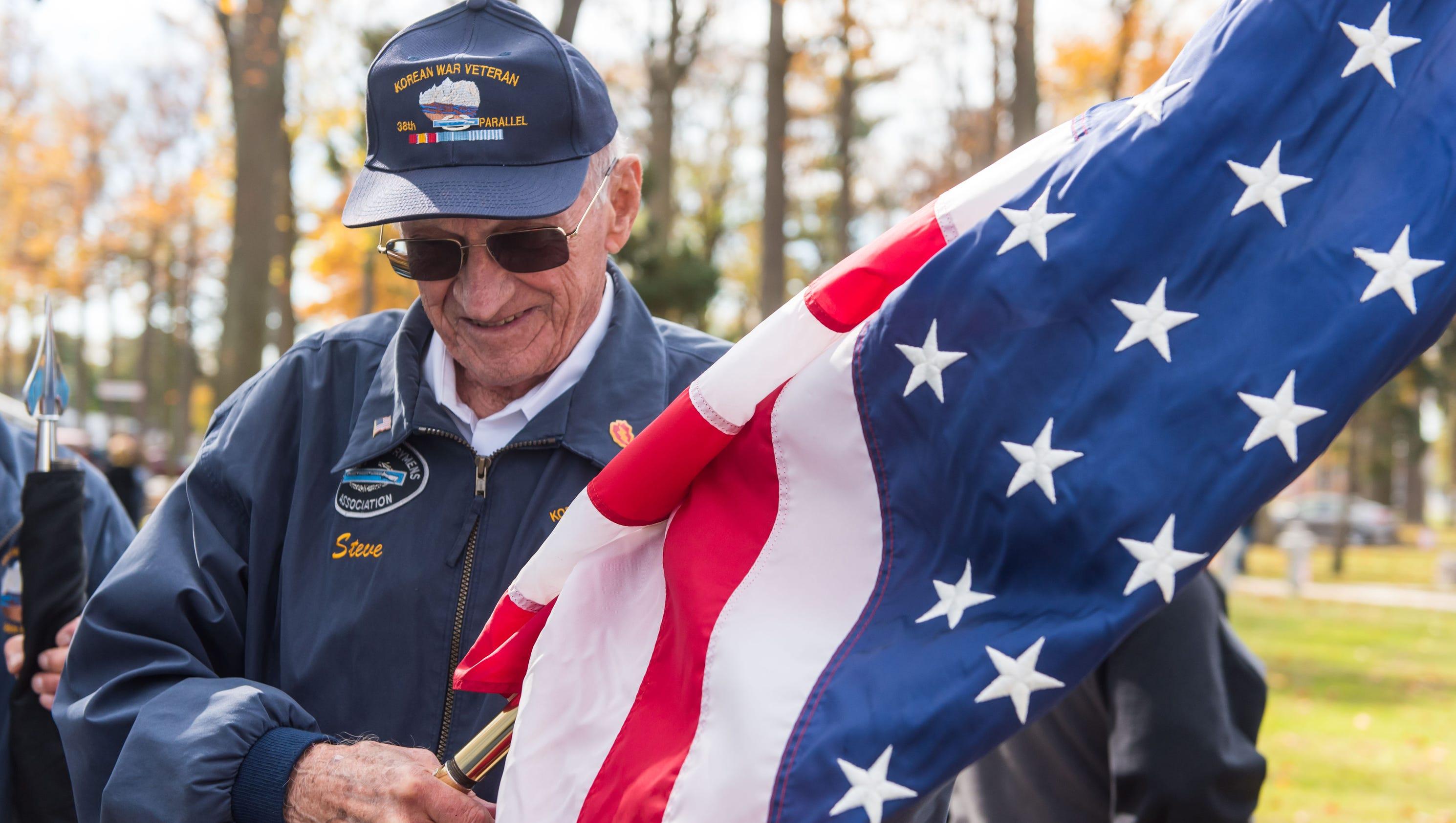 Veterans Honored At Vineland Ceremony
