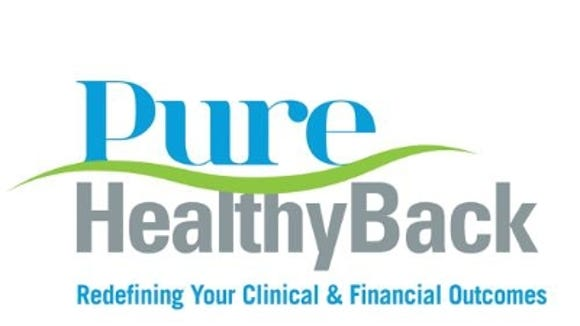 Pure HealthyBack logo