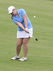 McNary's Cammie Decker competes during the final day