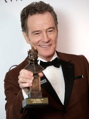 Bryan Cranston, winner of best actor for 'Network,'