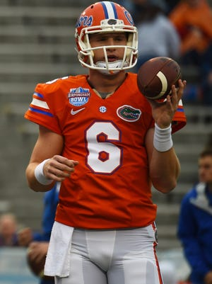 Florida Gators quarterback Jeff Driskel.