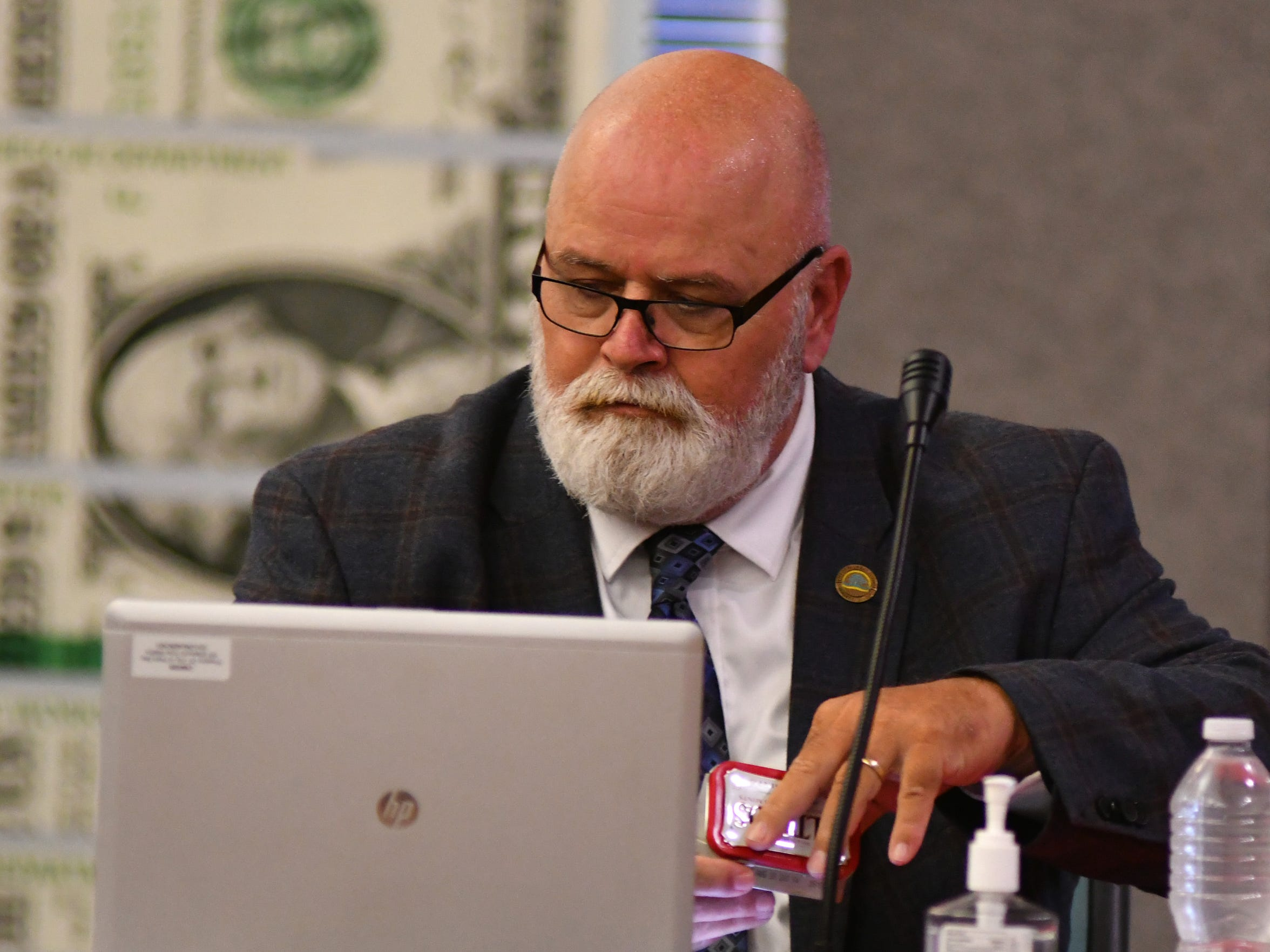 """Deputy Palm Bay City Manager David Isnardi said having the Florida Department of Law Enforcement and the FBI looking into operations in Palm Bay is concerning. But, he added: """"What can I do? I didn't do anything wrong."""""""
