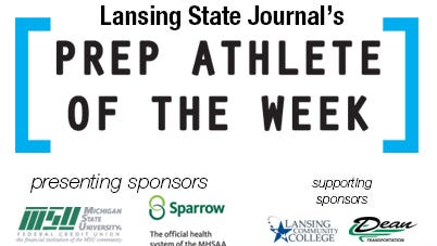 Pick the latest athlete of the week winner.