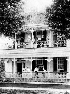 Joel Sandoz Home as it appeared sometime during the late 1800s.