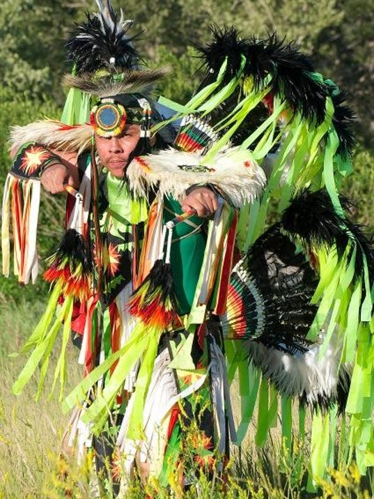 Native America Speaks Dancer